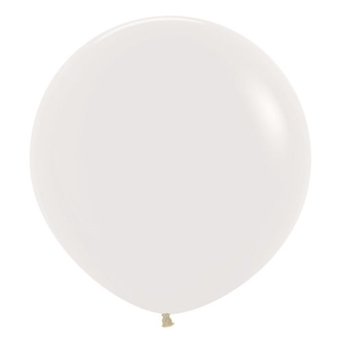 "Crystal Solid Clear 390 Latex Balloons 24""/60cm - 3 PC"